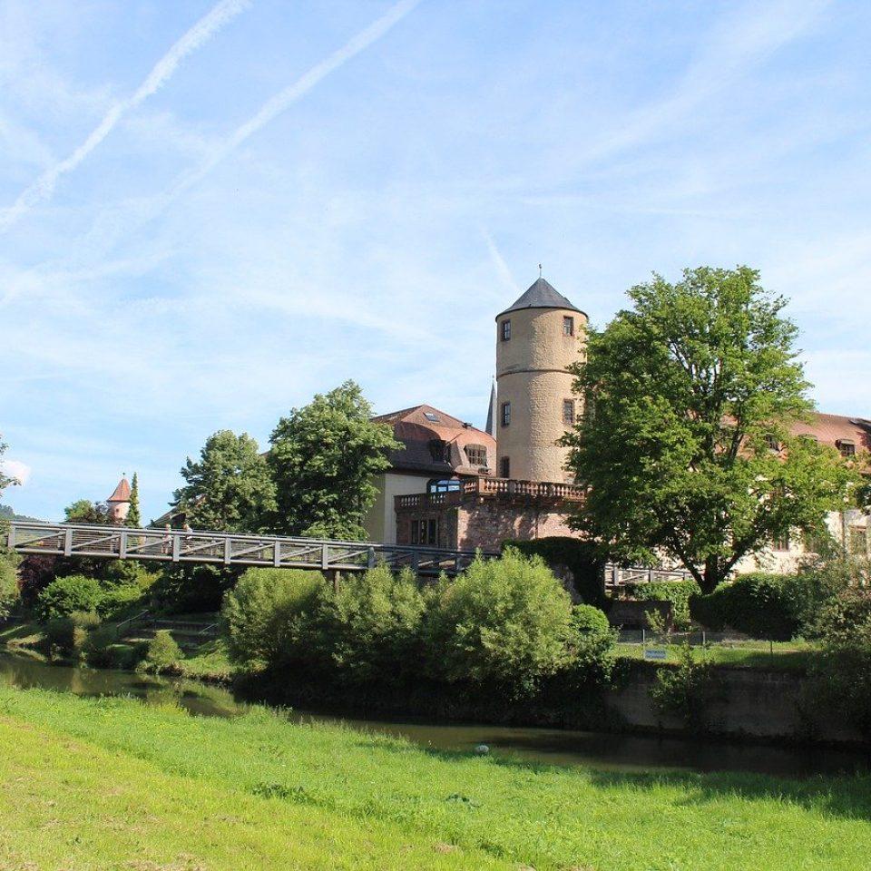 wertheim, bridge, river